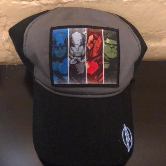 Marvel Other - Marvel Avengers Unite Characters Ballcap